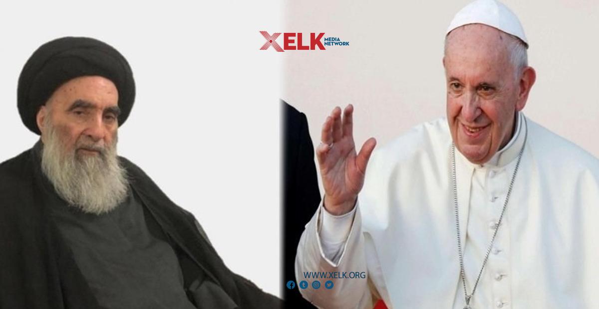 پاپا فرانسيس چاوی بە سیستانی دەكەوێت