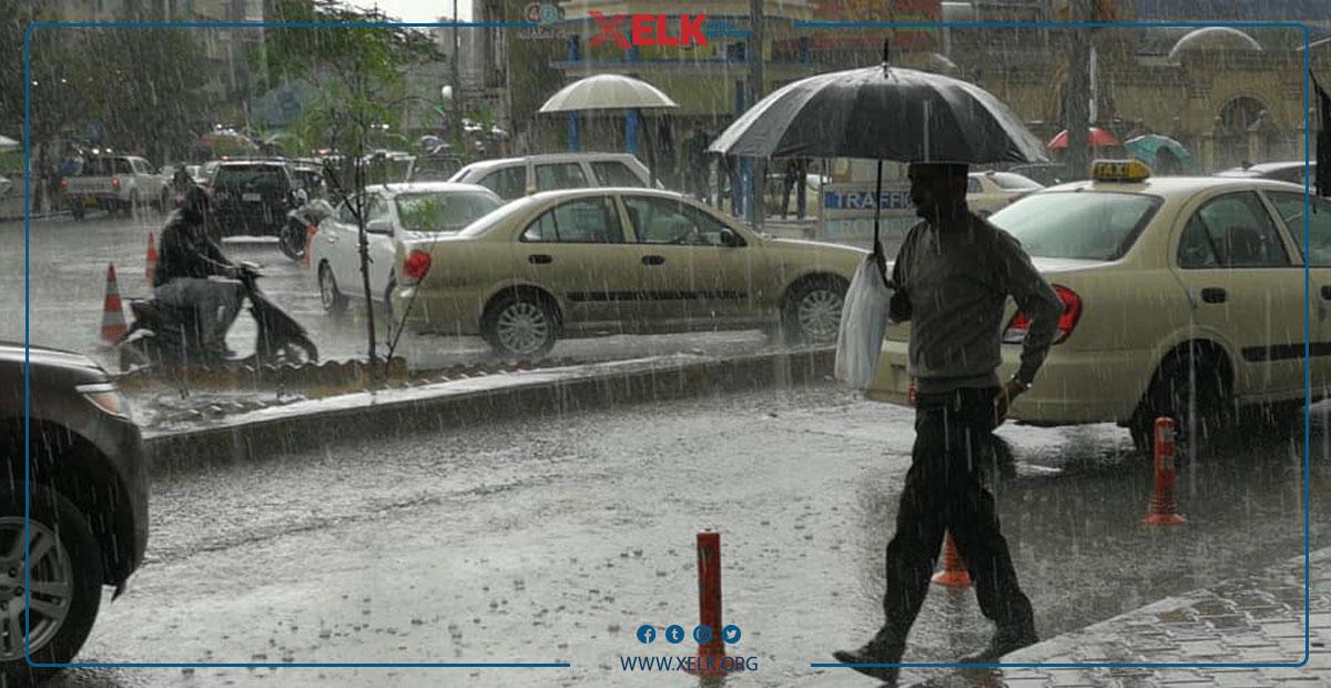 شەپۆلێكی لێزمە باران و هەورەتریشقە هەرێم دەگرێتەوە