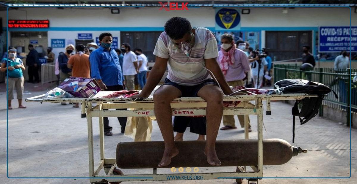 هیندستان.. لە هەر كاتژمێرێكدا 120 كەس بە كۆرۆنا گیان لەدەستدەدەن
